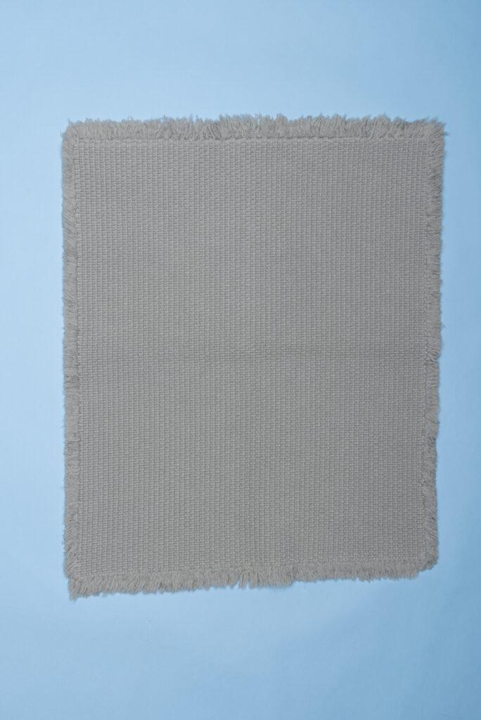 Dovi details | tappeto bagno in cotone intrecciato tortora