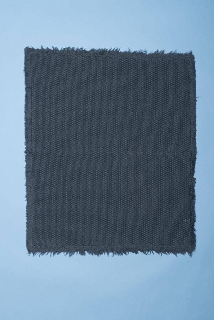 Dovi details | tappeto pbagno in cotone intrecciato grigio
